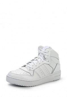 Кеды, adidas Originals, цвет: белый. Артикул: AD093AWHEU07. Женская обувь / Кроссовки и кеды