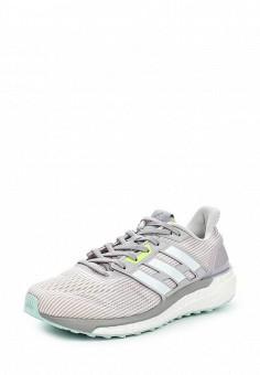 Кроссовки, adidas Performance, цвет: серый. Артикул: AD094AWQIK23. Женская обувь / Кроссовки и кеды