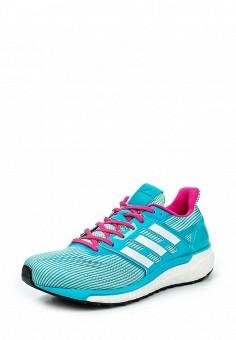 Кроссовки, adidas Performance, цвет: бирюзовый. Артикул: AD094AWQIK60. Женская обувь / Кроссовки и кеды