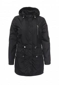 Парка, Alcott, цвет: черный. Артикул: AL006EWRAV54. Женская одежда / Верхняя одежда / Парки