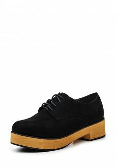 Ботинки, Anesia, цвет: черный. Артикул: AN045AWRPN38. Женская обувь / Ботинки / Низкие ботинки