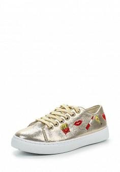 Кеды, Angelo Milano, цвет: золотой. Артикул: AN053AWPSU69. Женская обувь
