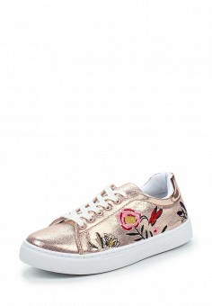 Кеды, Angelo Milano, цвет: розовый. Артикул: AN053AWPSU75. Женская обувь