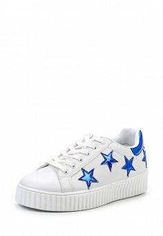 Кеды, Angelo Milano, цвет: белый. Артикул: AN053AWQQA24. Женская обувь