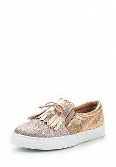 Слипоны, Angelo Milano, цвет: розовый. Артикул: AN053AWRZY28. Женская обувь