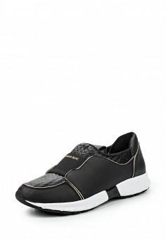 Кроссовки, Armani Jeans, цвет: черный. Артикул: AR411AWJSO56. Женщинам / Обувь / Кроссовки и кеды