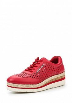 Ботинки, Armani Jeans, цвет: красный. Артикул: AR411AWPWC45. Премиум / Обувь