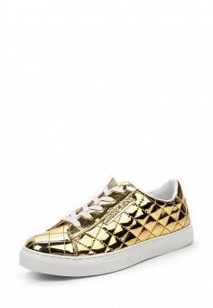 Кеды, Armani Jeans, цвет: золотой. Артикул: AR411AWPWC62. Премиум / Обувь