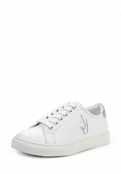 Кеды, Armani Jeans, цвет: белый. Артикул: AR411AWPWC72. Премиум / Обувь