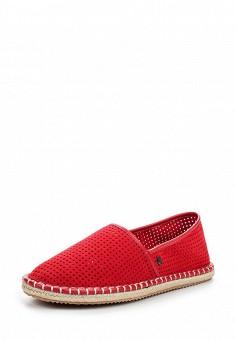 Эспадрильи, Armani Jeans, цвет: красный. Артикул: AR411AWPWC87. Премиум / Обувь