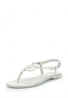 Сандалии, Armani Jeans, цвет: белый. Артикул: AR411AWPWD00. Премиум / Обувь