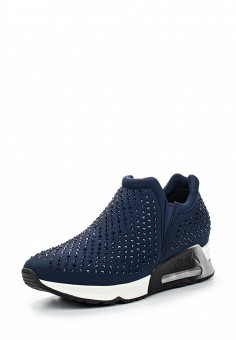 Кроссовки, Ash, цвет: синий. Артикул: AS069AWQUP31. Женская обувь
