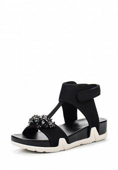 Сандалии, Ash, цвет: черный. Артикул: AS069AWQUP34. Женская обувь