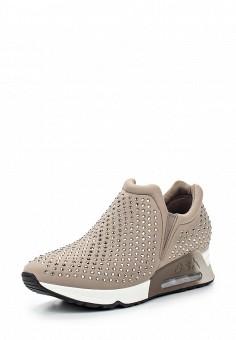 Кроссовки, Ash, цвет: бежевый. Артикул: AS069AWQUP36. Женская обувь