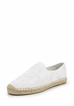 Эспадрильи, Ash, цвет: белый. Артикул: AS069AWQUP58. Женская обувь