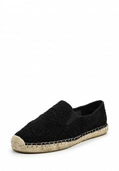 Эспадрильи, Ash, цвет: черный. Артикул: AS069AWQUP59. Женская обувь