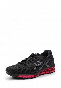 Кроссовки, ASICS, цвет: черный. Артикул: AS455AWUMF71. Женская обувь / Кроссовки и кеды