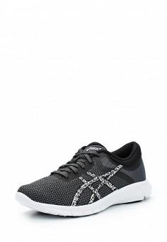 Кроссовки, ASICS, цвет: черный. Артикул: AS455AWUMF81. Женская обувь / Кроссовки и кеды