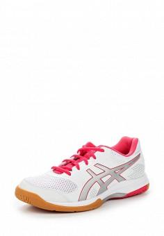 Кроссовки, ASICS, цвет: белый. Артикул: AS455AWUMG04. Женская обувь / Кроссовки и кеды