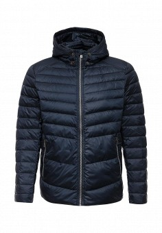 Пуховик, Baon, цвет: синий. Артикул: BA007EMLBR93. Мужская одежда / Верхняя одежда / Пуховики и зимние куртки