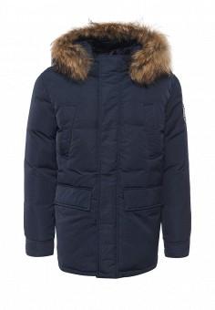 Пуховик, Baon, цвет: синий. Артикул: BA007EMLNS73. Мужская одежда / Верхняя одежда / Пуховики и зимние куртки