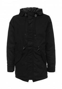 Парка, Baon, цвет: черный. Артикул: BA007EMMXU88. Мужская одежда / Верхняя одежда / Пуховики и зимние куртки