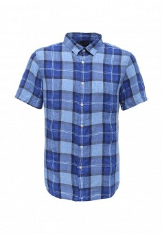 Рубашка, Banana Republic, цвет: синий. Артикул: BA067EMSYO74. Мужская одежда / Рубашки
