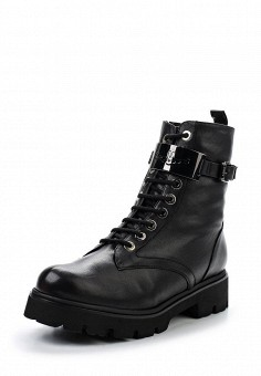Ботинки, Baldinini, цвет: черный. Артикул: BA097AWTCB44. Женская обувь