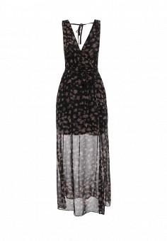 Платье, BCBGeneration, цвет: черный. Артикул: BC528EWSQE37. Премиум / Одежда / Платья и сарафаны
