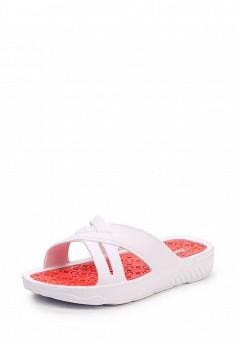 Сланцы, Beppi, цвет: белый. Артикул: BE099AWQAA56. Женская обувь / Шлепанцы и акваобувь