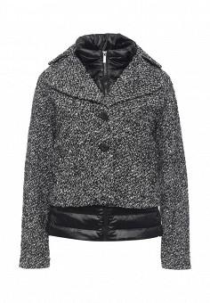 Пальто, Bosideng, цвет: черно-белый. Артикул: BO026EWMIE05. Премиум / Одежда / Верхняя одежда / Пальто