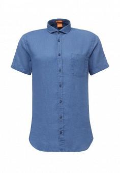 Рубашка, Boss Orange, цвет: синий. Артикул: BO456EMORW88. Мужская одежда / Рубашки