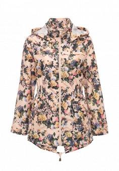 Парка, Brave Soul, цвет: коралловый, розовый. Артикул: BR019EWRWW47. Женская одежда / Верхняя одежда / Парки