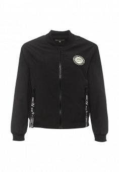 Куртка, By Swan, цвет: черный. Артикул: BY004EWRPM51. Женская одежда / Верхняя одежда / Демисезонные куртки