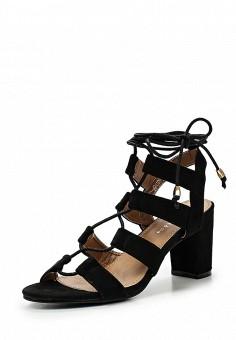 Босоножки, Catisa, цвет: черный. Артикул: CA072AWTFP00. Женская обувь / Босоножки