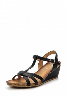 Босоножки, Catisa, цвет: черный. Артикул: CA072AWTFP25. Женская обувь / Босоножки