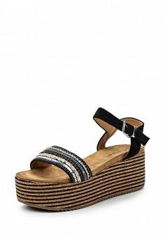 Босоножки, Catisa, цвет: черный. Артикул: CA072AWTFP38. Женская обувь / Босоножки