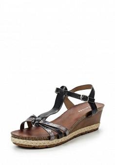 Босоножки, Catisa, цвет: черный. Артикул: CA072AWTFP43. Женская обувь / Босоножки