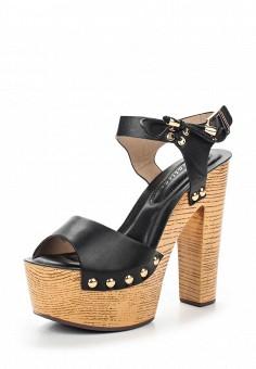 Босоножки, Catisa, цвет: черный. Артикул: CA072AWTFP64. Женская обувь / Босоножки
