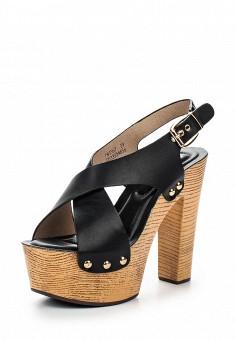Босоножки, Catisa, цвет: черный. Артикул: CA072AWTFP67. Женская обувь / Босоножки