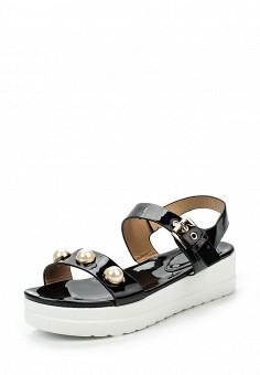 Босоножки, Catisa, цвет: черный. Артикул: CA072AWTFQ17. Женская обувь / Босоножки