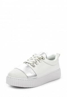 Кеды, Chic Nana, цвет: белый. Артикул: CH039AWTLL70. Женская обувь / Кроссовки и кеды