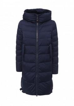 Куртка утепленная, Clasna, цвет: синий. Артикул: CL016EWNLX49. Женская одежда / Верхняя одежда / Пуховики и зимние куртки