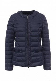 Куртка утепленная, Conso Wear, цвет: синий. Артикул: CO050EWQUO47. Женская одежда / Верхняя одежда / Демисезонные куртки