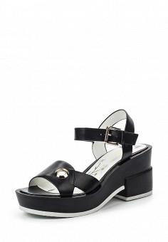 Босоножки, Dino Ricci Trend, цвет: черный. Артикул: DI029AWQYX90. Женская обувь / Босоножки