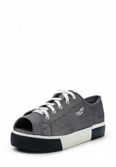 Кеды, Dino Ricci Trend, цвет: серый. Артикул: DI029AWQYY10. Женская обувь / Кроссовки и кеды