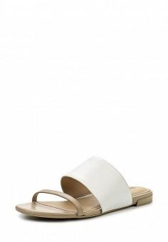 Шлепанцы, DKNY, цвет: белый. Артикул: DK001AWIRK76. Премиум / Обувь