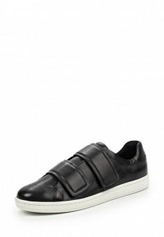 Кеды, DKNY, цвет: черный. Артикул: DK001AWJKZ27. Женщинам / Обувь / Кроссовки и кеды