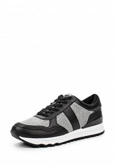 Кроссовки, DKNY, цвет: черный. Артикул: DK001AWMGI43. Женская обувь / Кроссовки и кеды