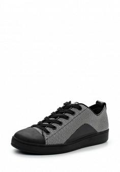 Кеды, DKNY, цвет: серый. Артикул: DK001AWPVH90. Женская обувь / Кроссовки и кеды